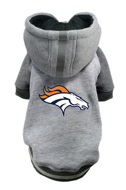 NFL Denver Broncos Licensed Dog Hoodie - Small - 3X
