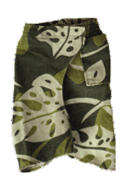 Jungle Hawaiian Dog Jeans Pant