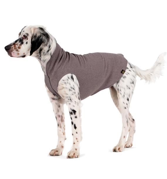 Gold Paw Stretch Fleece - Charcoal