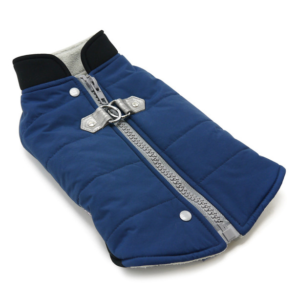 Urban Navy Blue Runner Dog Coat