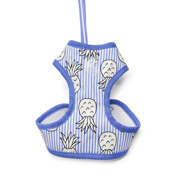EasyGO Pineapple Blue Dog Harness