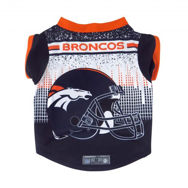 NFL Performance Pet Dog Tee - Denver Broncos