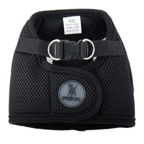 Worthy Dog Step-in Sidekick Dog Harness - Black