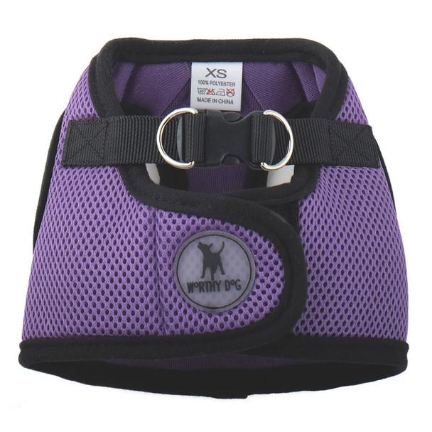 Worthy Dog Step-in Sidekick Dog Harness - Purple