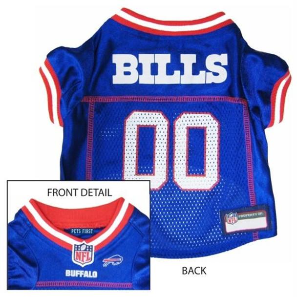 Buffalo Bills Dog Jersey  - pfbuf4006-0001