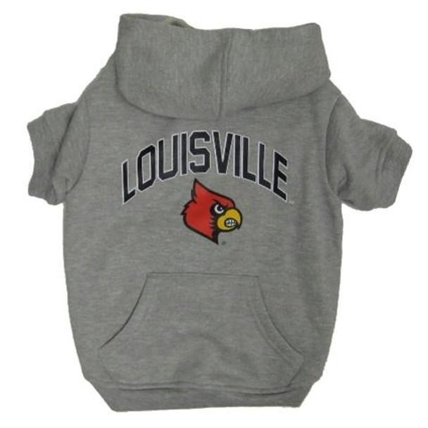 Louisville Cardinals Pet Hoodie Sweatshirt