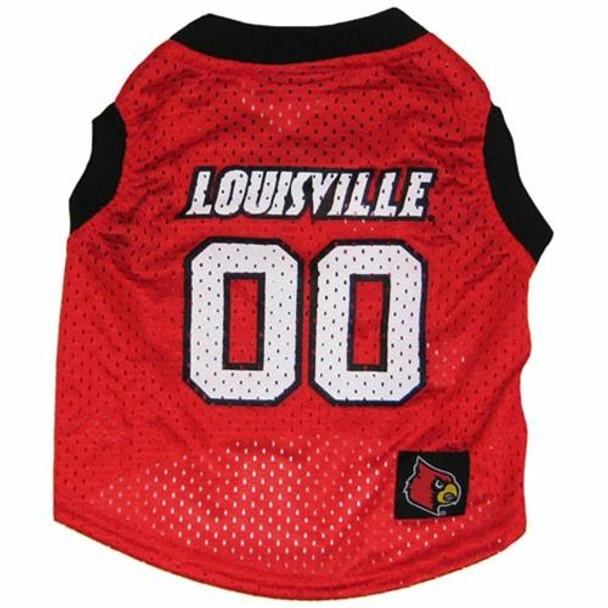 Louisville Cardinals Pet Basketball Tank Jersey