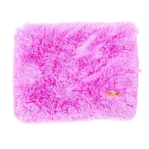 Perfect Pink Plush Shag Small - Big Dogs