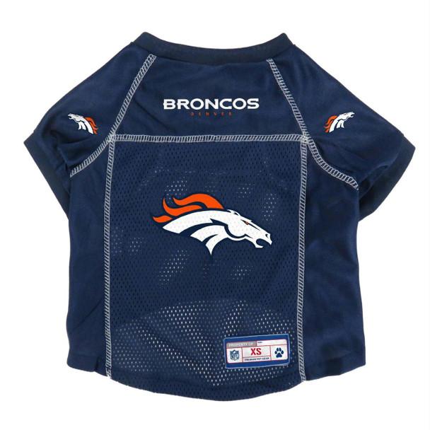 Denver Broncos Mesh Pet Jersey