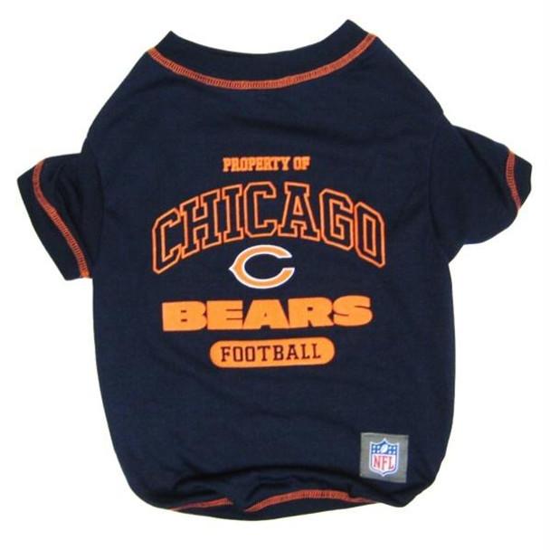 Chicago Bears Dog T-Shirt