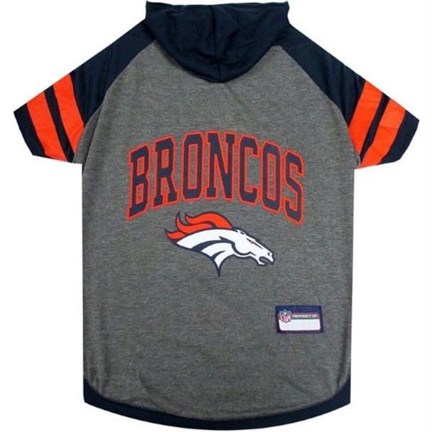 Denver Broncos Pet Hoodie T-Shirt