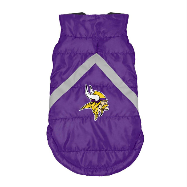 Minnesota Vikings Pet Puffer Vest - Teacup