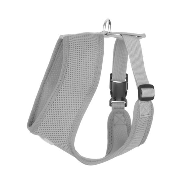 Mesh Dog Harness Vests - Silver Grey Ultra Comfort