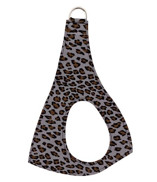 Platinum Cheetah Couture Plain Step In Dog Harness by Susan Lanci