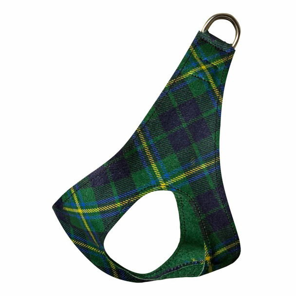 Scotty Forest Plaid Plain Step In Dog Harness by Susan Lanci