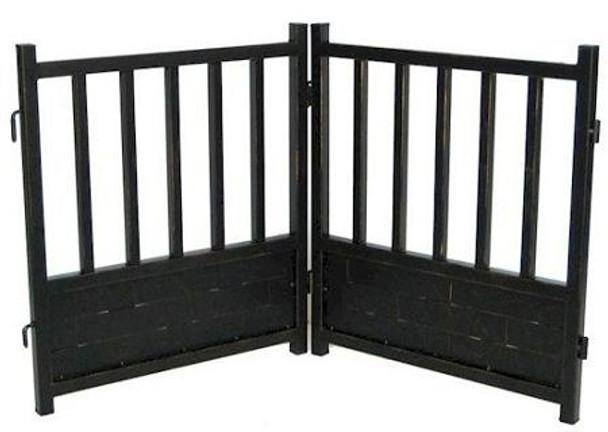 Large Royal Weave Freestanding Dog Gate