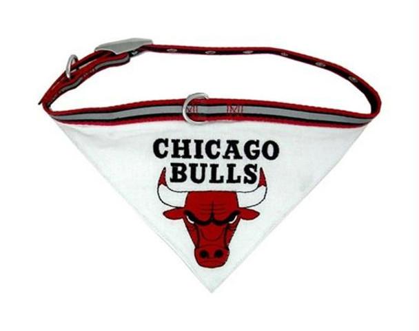 Chicago Bulls Dog Collar Bandana