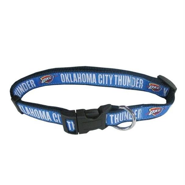 Oklahoma City Thunder Pet Collar