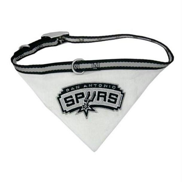 San Antonio Spurs Dog Collar Bandana