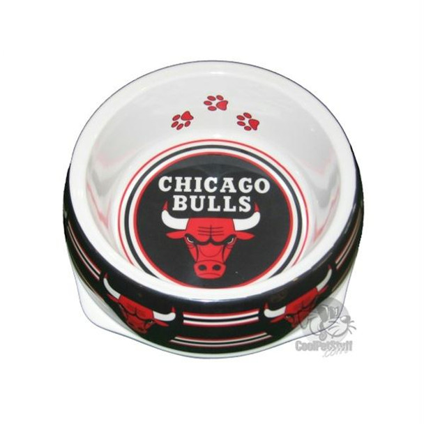 Chicago Bulls Dog Bowl