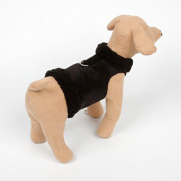 Dog Bowzer - Black Harness Dog Jacket