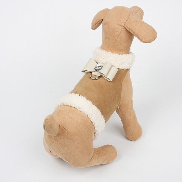 Dog Bowzer - Big Bow Camel Harness Dog Jacket