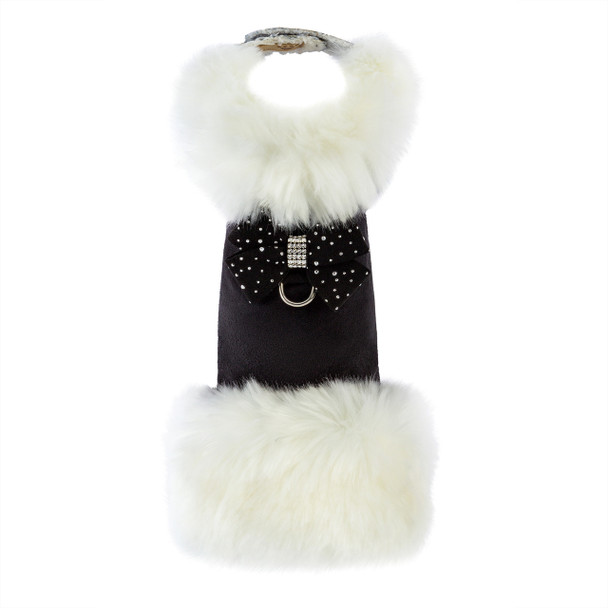 White Fox & Stardust Nouveau Bow Dog Coat - Choose Your Color