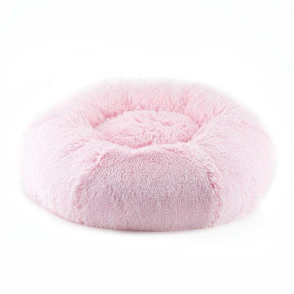 Designer Plush Puppy Pink Shag Spa Bed