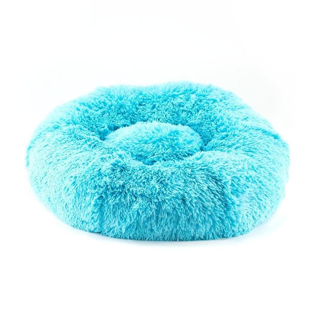 Designer Plush Aqua Shag Spa Bed
