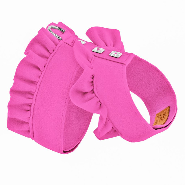 Pink Sapphire Pinafore Harnesses by Susan Lanci