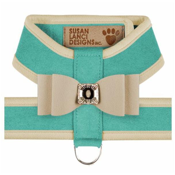 Big Bow Tinkie Harnesses -Binimi Blue / Doe Trim & Bow