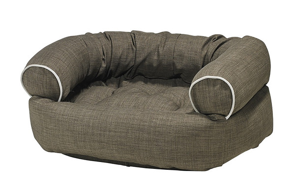 Driftwood Microlinen Double Donut Pet Dog Bed