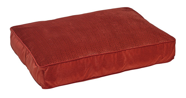 Cherry Bones Microvelvet Super Loft Rectangle Pet Dog Bed