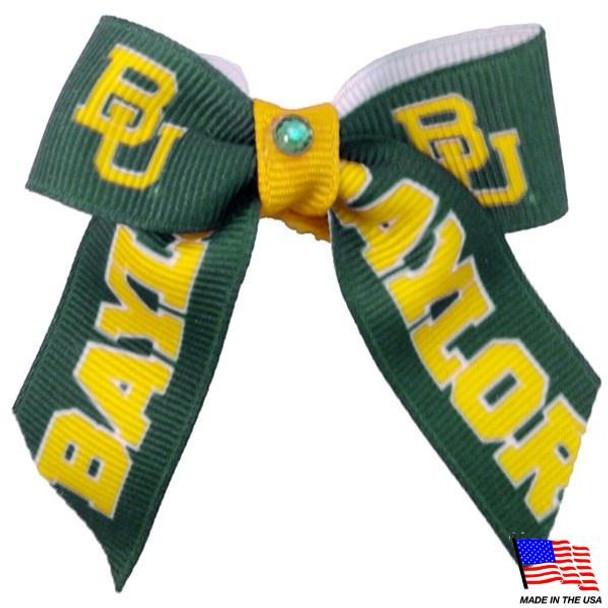 Baylor Bears Pet Hair Bow