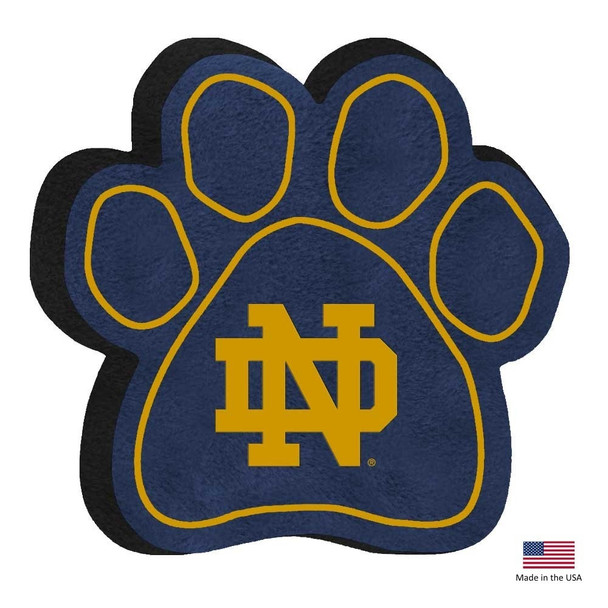 Notre Dame Fighting Irish Paw Squeak Toy