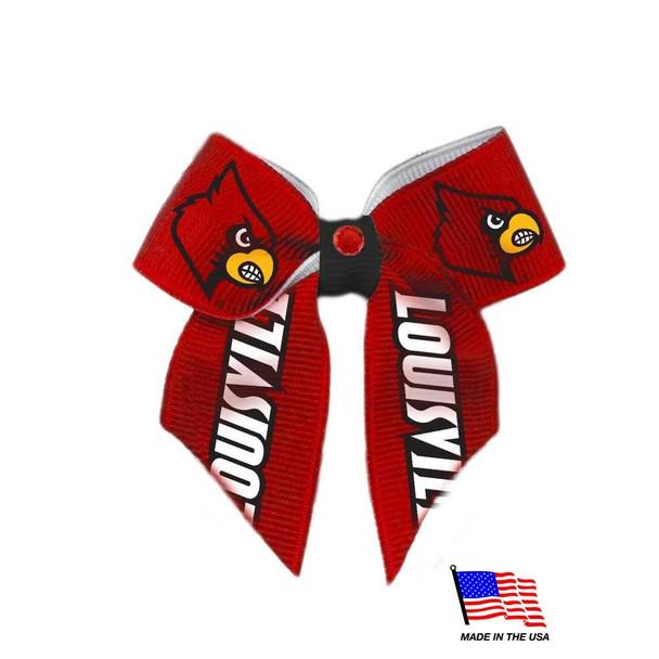 Louisville Cardinals Pet Hair Bow