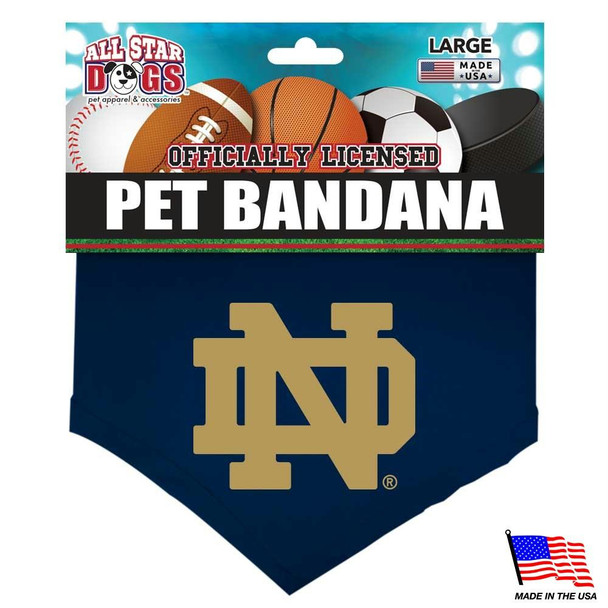 Notre Dame Fighting Irish Pet Bandana