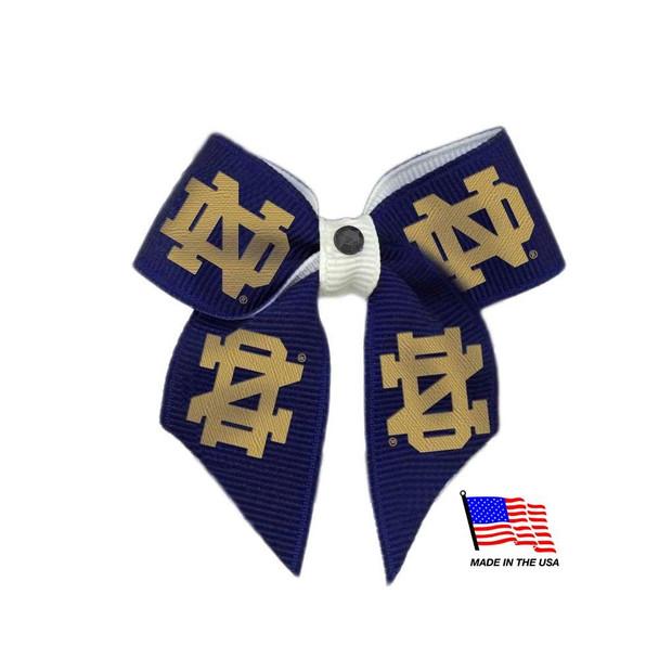 Notre Dame Fighting Irish Pet Hair Bow