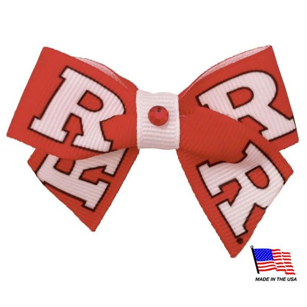 Rutgers Scarlet Knights Pet Hair Bow