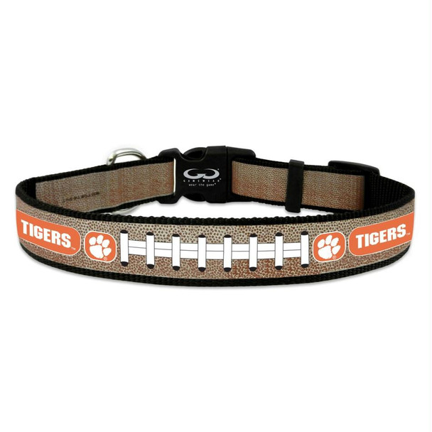 Clemson Tigers Reflective Football Pet Collar