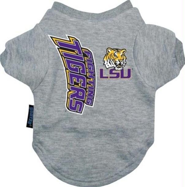 LSU Tigers Dog Tee Shirt