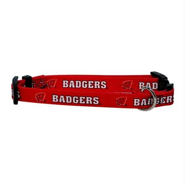 Wisconsin Badgers Dog Collar