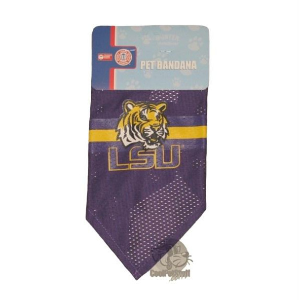 LSU Tigers Mesh Dog Bandana