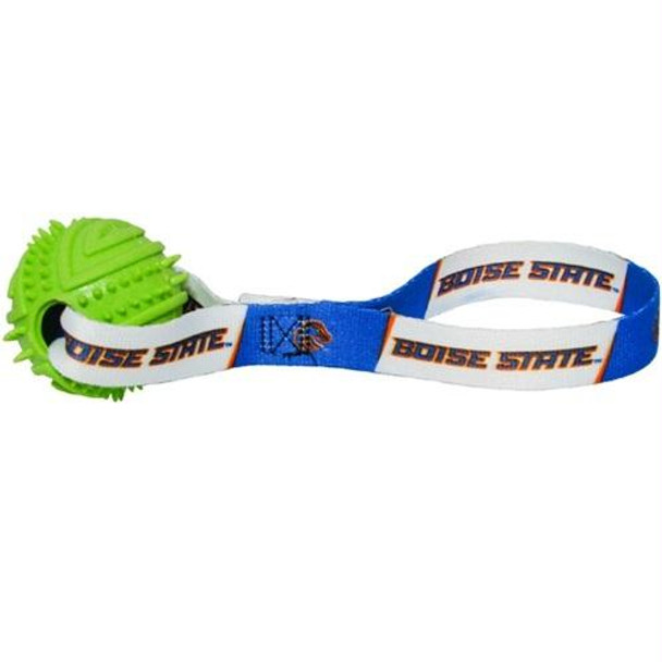 Boise State Rubber Ball Toss Toy