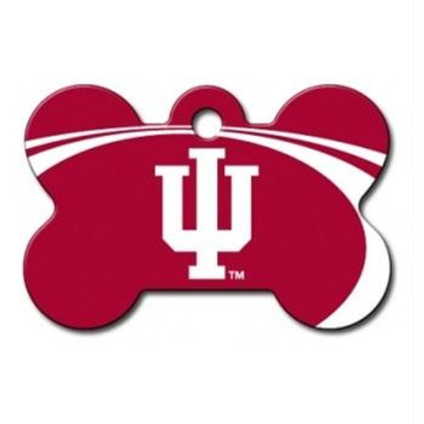 Indiana Hoosiers Bone ID Tag