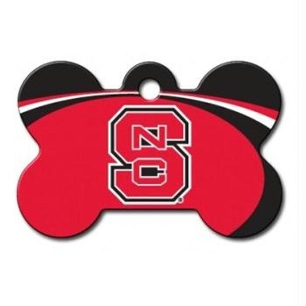 NC State Wolfpack Bone ID Tag