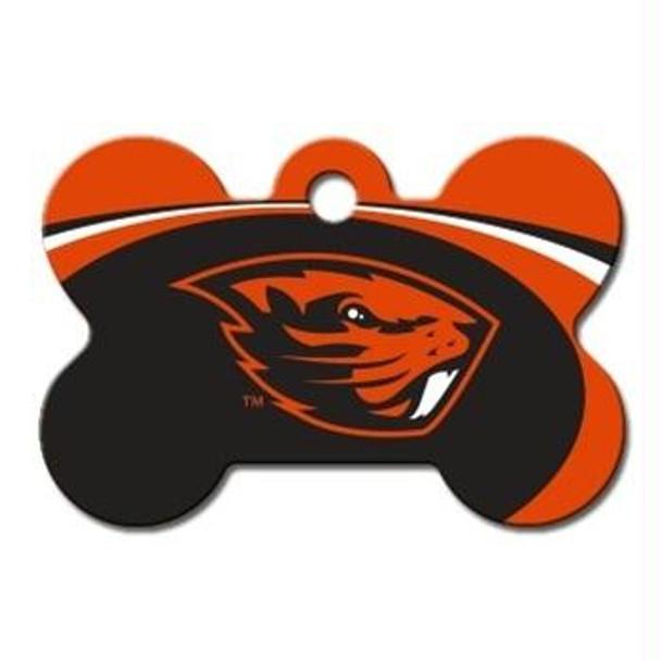 Oregon State Beavers Bone ID Tag