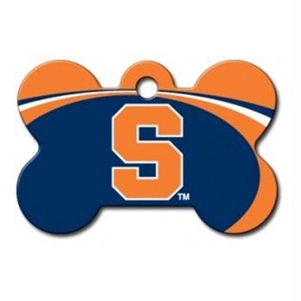 Syracuse Orange Bone ID Tag
