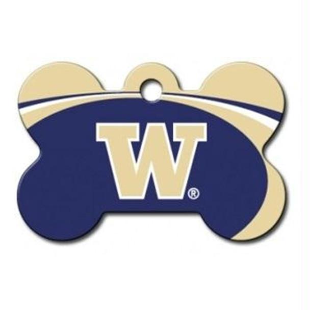 Washington Huskies Bone ID Tag