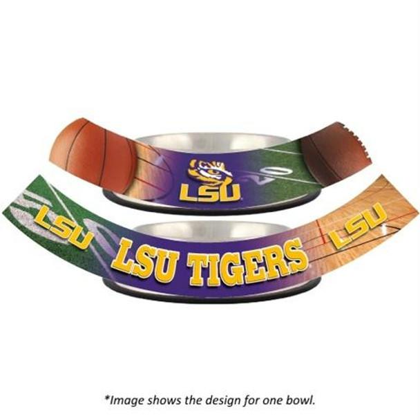 LSU Tigers Dog Bowl